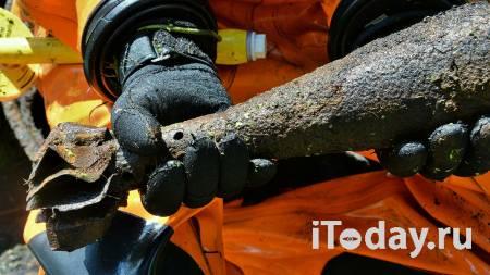 Саперы вывезли на полигон найденный на стройплощадке в Москве снаряд - Недвижимость 25.11.2020