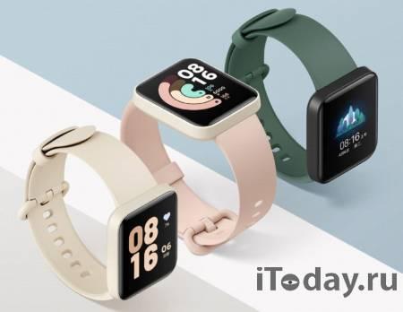 Представлены умные часы Redmi Watch