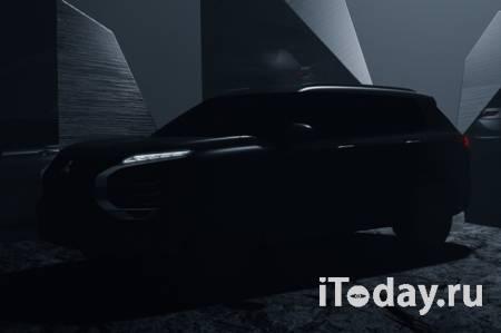 Новый Mitsubishi Outlander сдали с потрохами до премьеры