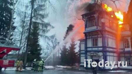 В Ленинградской области потушили пожар в детском санатории - 25.12.2020