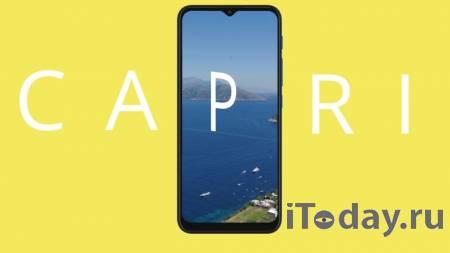 Стали известны подробности о смартфоне Motorola Capri Plus