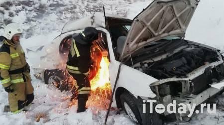 Один из пострадавших в ДТП в Туве находится в крайне тяжелом состоянии - 03.01.2021