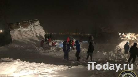 В Норильске спасли четырех человек после схода лавины - 08.01.2021