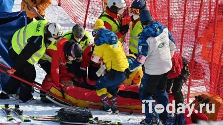 Горнолыжник Форд был доставлен в больницу на вертолете после падения - Спорт 09.01.2021