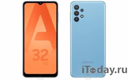 В сети появились официальные изображения смартфона Samsung Galaxy A32 5G