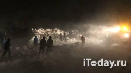 В МЧС рассказали, какие шансы выжить у человека, попавшего под лавину - 14.01.2021