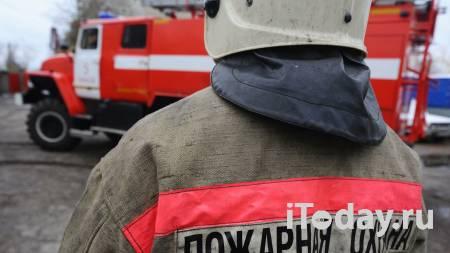 В Омске загорелся автосервис с гаражным боксом - 16.01.2021