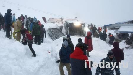 Ширина лавины, которая сошла в Домбае, составила 100 метров - 19.01.2021
