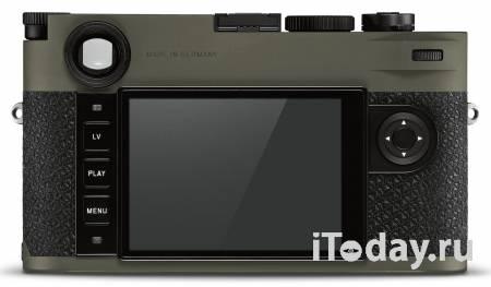Leica выпускает новую лимитированную камеру Leica M10-P «Reporter»