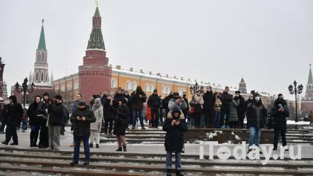 Корреспондент Новости пострадала на несогласованной акции в Москве - 23.01.2021