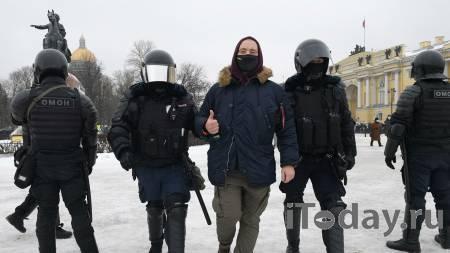 В Петербурге завели дело о насилии в отношении полицейских - 23.01.2021