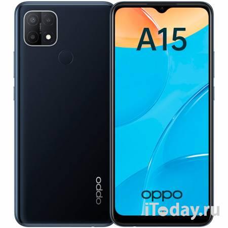 Российский старт продаж смартфона OPPO A15