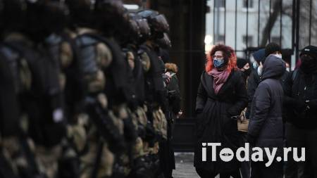 СК просит арестовать участника акции в Москве, ударившего росгвардейца - 27.01.2021