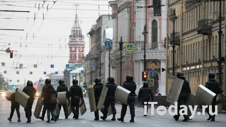 В Петербурге назвали действия силовика с табельным оружием законными - 31.01.2021