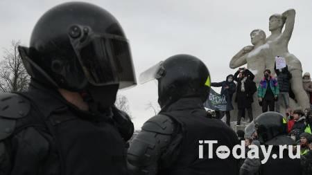 В Петербурге рассказали о задержании девочки на незаконной акции - 31.01.2021
