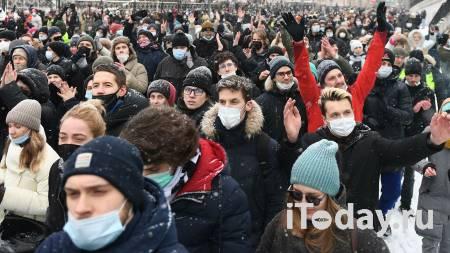 В Москве арестовали участника незаконной акции - 03.02.2021