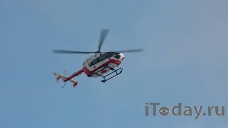 Четырех пострадавших при пожаре в Новой Москве эвакуировали вертолетами - 06.02.2021