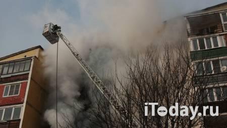 Площадь пожара в ангаре на юге Москвы возросла до 1000 квадратных метров - 07.02.2021