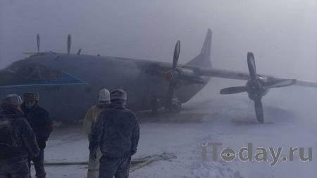На острове Итуруп самолет Ан-12 совершил жесткую посадку - 09.02.2021