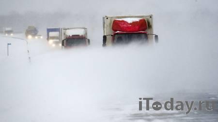 В Чувашии из-за метели частично перекрыли федеральные дороги - 12.02.2021