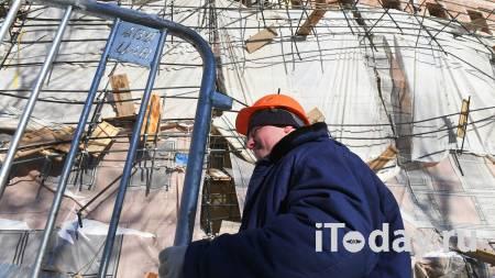 В Москве из-за обрушения лесов изменили маршруты наземного транспорта - 15.02.2021