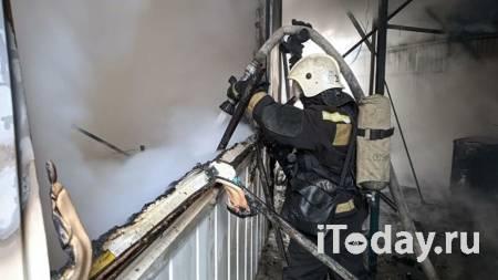 Медики помогли троим пострадавшим при пожаре на рынке в Волгограде - Радио Sputnik, 16.02.2021