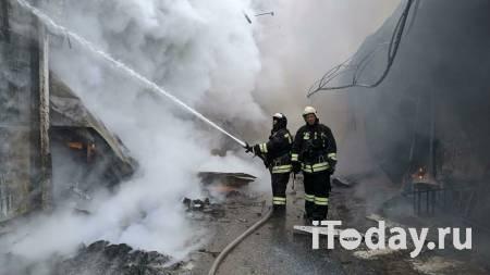 В Самаре загорелся торговый павильон - 17.02.2021