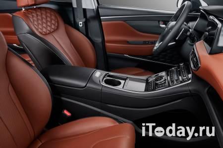 В России стартуют продажи обновлённого кроссовера Hyundai Santa Fe