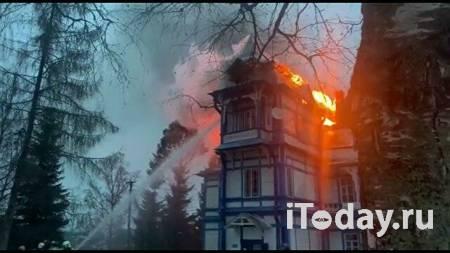 В Пензенской области загорелся санаторий - 22.02.2021