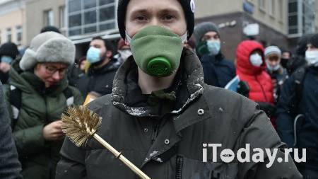 Мосгорсуд подсчитал число арестованных на незаконных акциях - Радио Sputnik, 24.02.2021