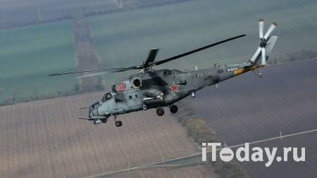 Минобороны РФ: вертолет ВКС вынужденно приземлился в Сирии - Радио Sputnik, 28.02.2021