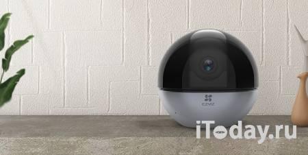 EZVIZ C6W – «умная» домашняя камера панорамного видеонаблюдения с сенсором True-WDR