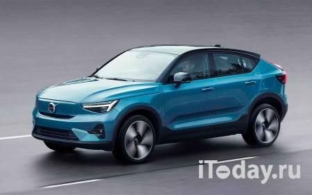 Volvo представила электрический купе-кроссовер С40 Recharge