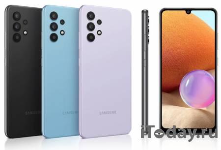 В продажу на российский рынок поступает смартфон от Samsung – Galaxy A32