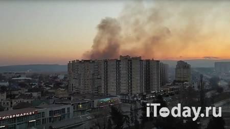 Пожар в восьмиэтажном жилом доме в Анапе локализовали - 12.03.2021