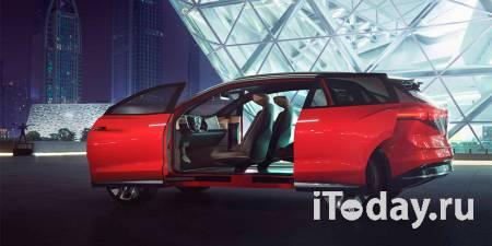 Vokswagen представит в апреле большой электрический кроссовер