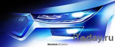Стал известен дизайн обновленного внедорожника SKODA KODIAQ