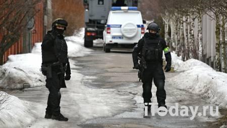 Спецназ покидает место стрельбы в Мытищах - 30.03.2021
