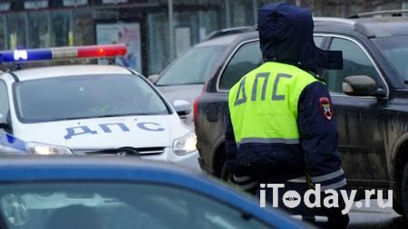 В центре Москвы столкнулись пять автомобилей - 01.04.2021