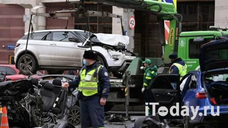 Автомобиль, виновный в ДТП на Садовом кольце, ездил по подложным номерам - 01.04.2021