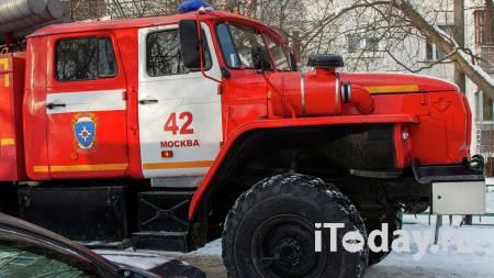 В Подмосковье горит завод по производству детских площадок - Радио Sputnik, 01.04.2021