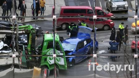 Вероятный виновник ДТП в центре Москвы не является собственником Audi - 01.04.2021