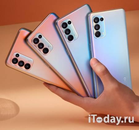 Стартовали продажи смартфонов OPPO Reno5 и OPPO Reno5 Lite