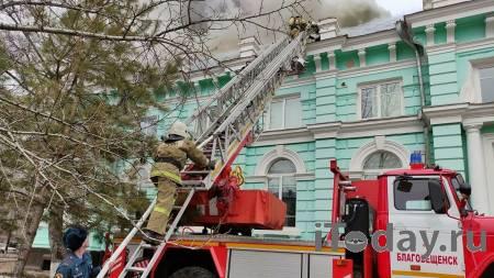 Врач показал видео операции из горящего кардиоцентра Благовещенска - 04.04.2021