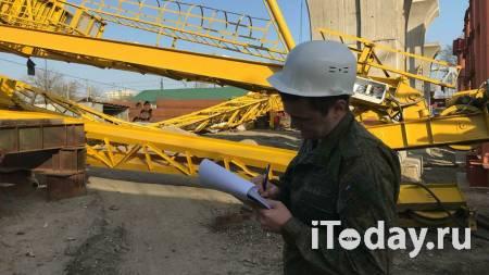 В Краснодаре рабочий погиб при падении строительного крана - 07.04.2021