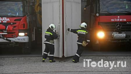 В Люберцах загорелись склады с бытовой химией - 07.04.2021