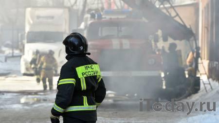 """Площадь пожара в Люберцах увеличилась до пяти тысяч """"квадратов"""" - 07.04.2021"""