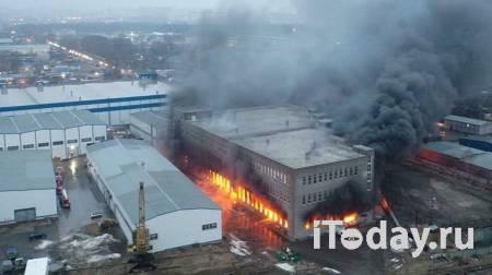 В Люберцах потушили пожар на складах - 08.04.2021