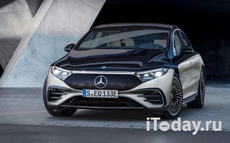 Представлен роскошный электрический седан Mercedes-Benz EQS 2022