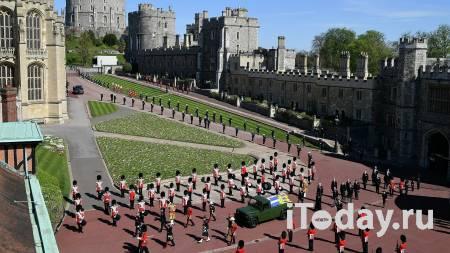 Обнаженная женщина чуть не сорвала похороны принца Филиппа